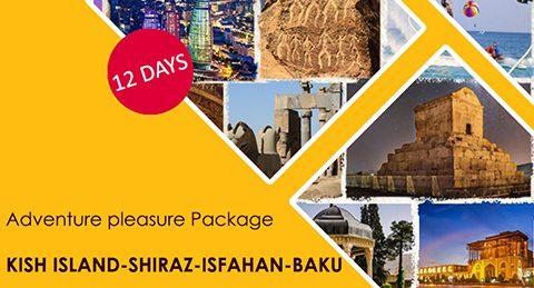 Adventure pleasure Package KISH ISLAND-SHIRAZ-ISFAHAN-BAKU | 12 days