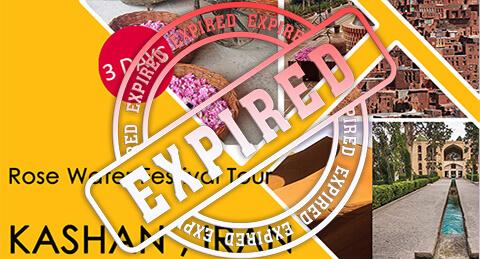 Rose Water Festival Tour KASHAN , IRAN 3 Days